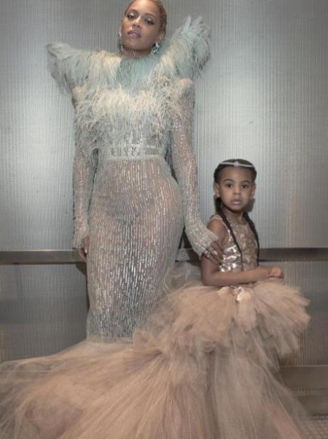 Beyonce and Blue VMAS