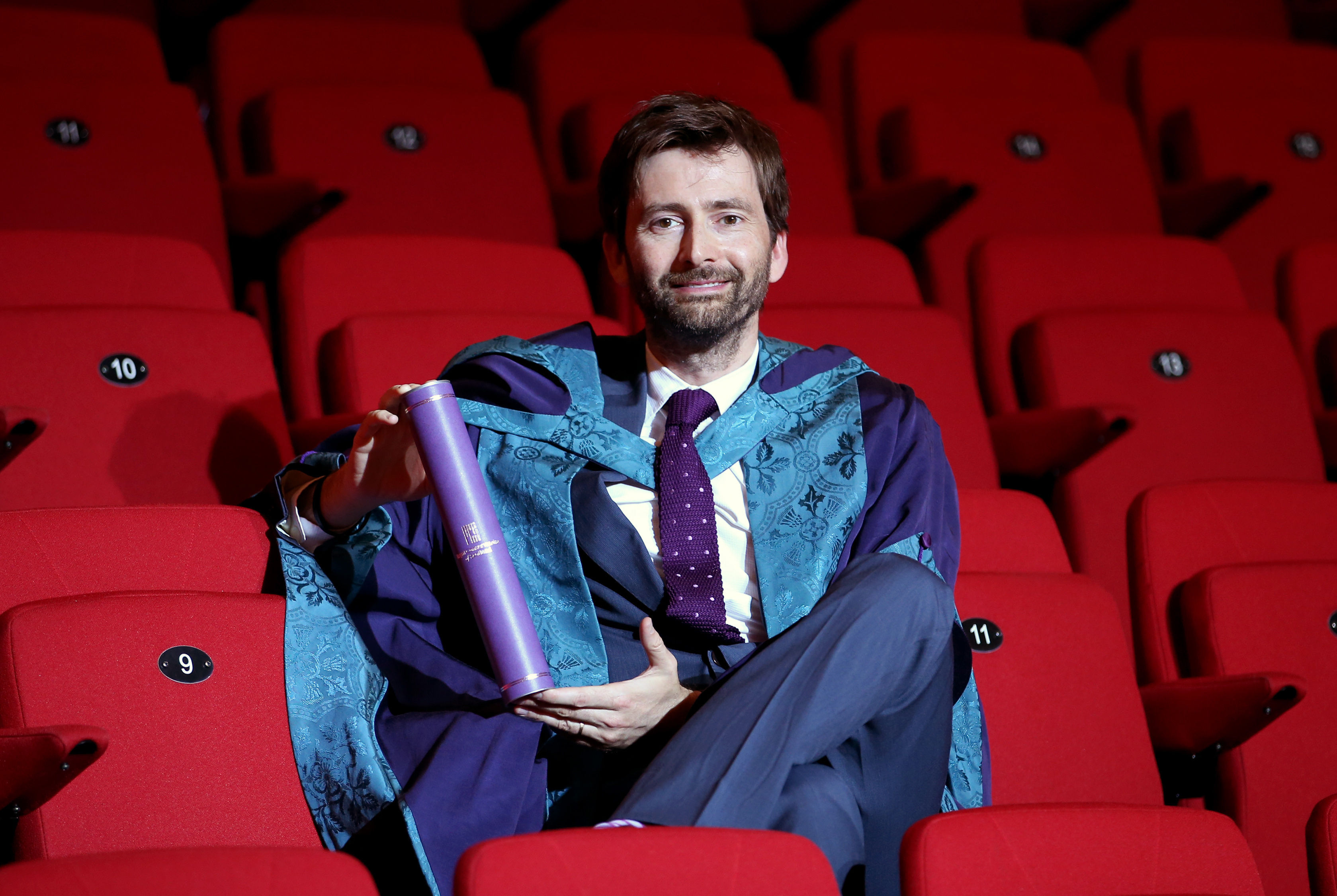 David Tennant honarary doctorate of drama Royal Co