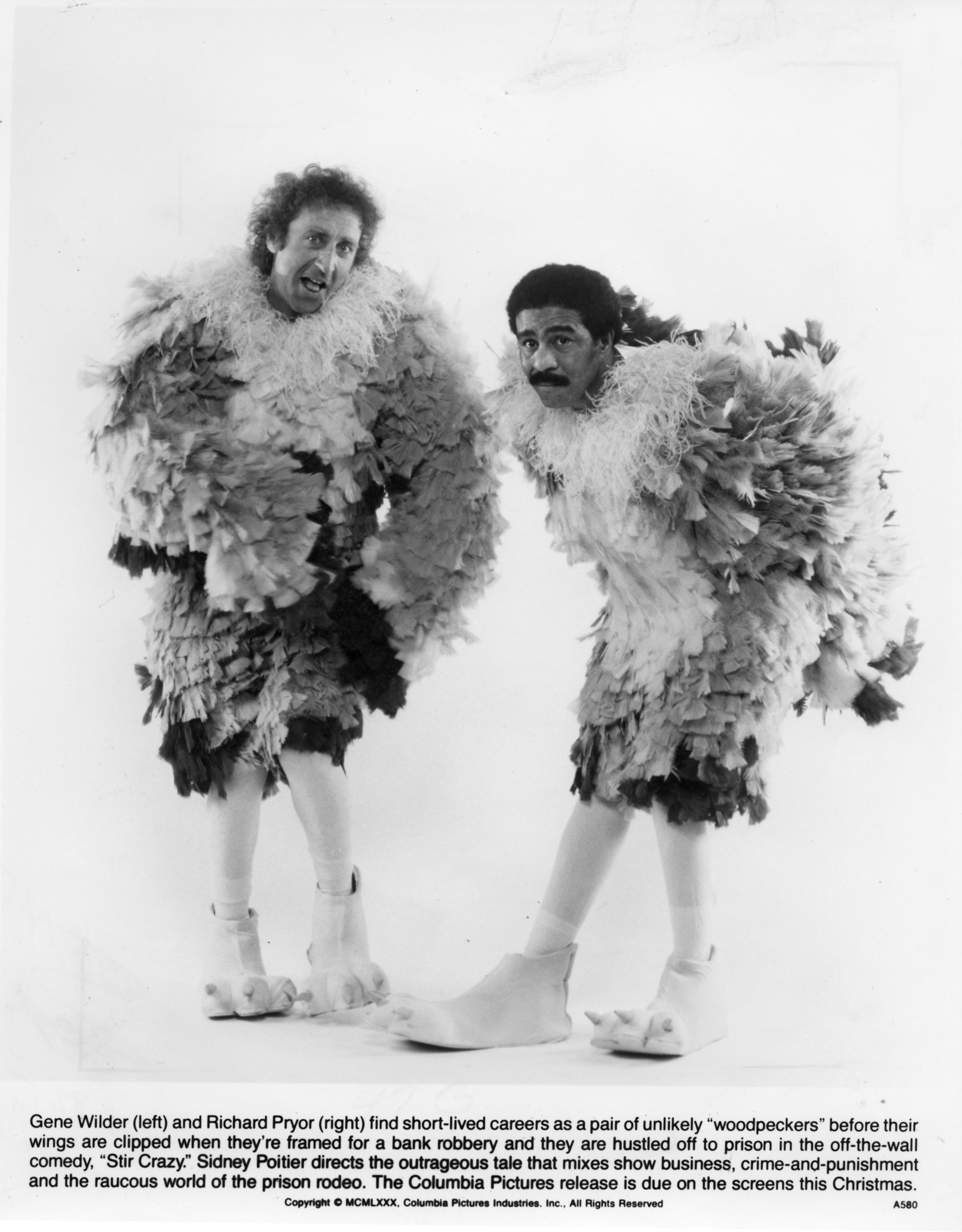 Gene Wilder and Richard Pryo