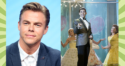 derek hough to play corny collins in hairspray liv