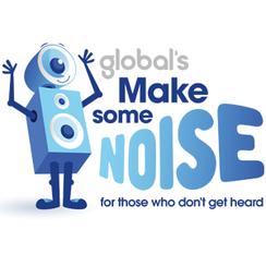 Global's Make Some Noise 2016 logo square