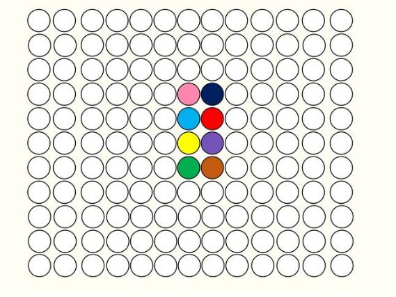 hit the dot game