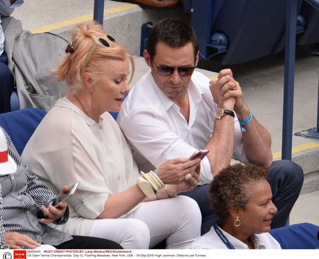 Matching Outfits For Hugh Jackman And Wife Deborra