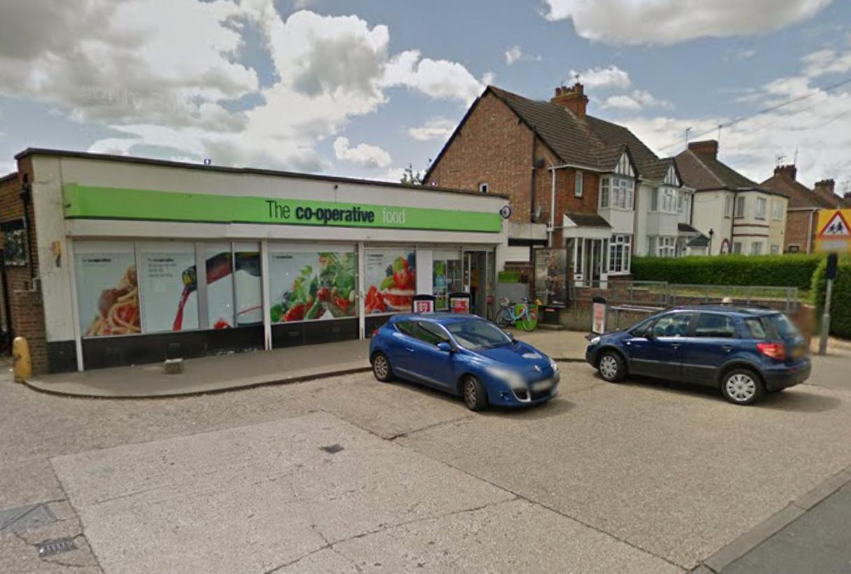 Bletchley Co-Op Racial Assault