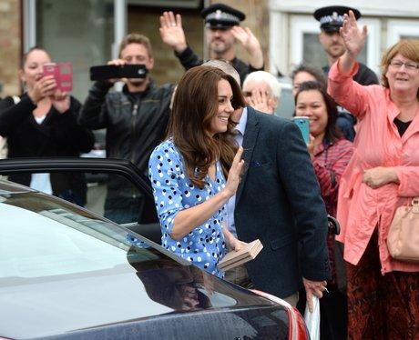 Duke And Duchess Of Cambridge Visit Harlow