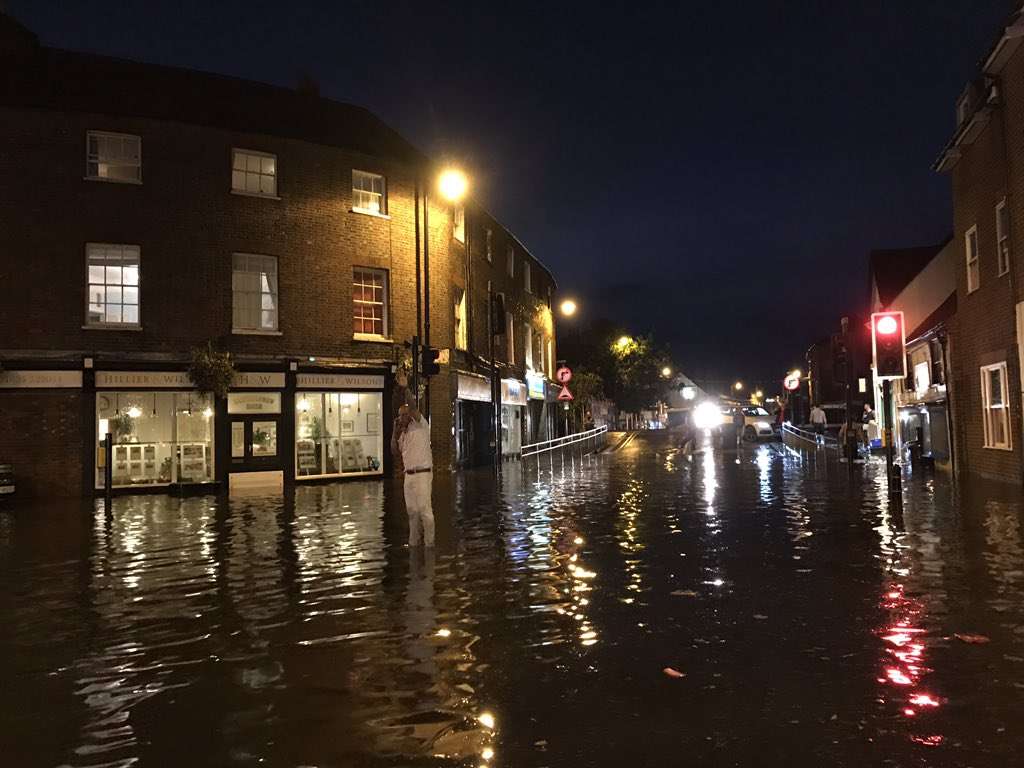 Flooding in Newbury (2016 sept)
