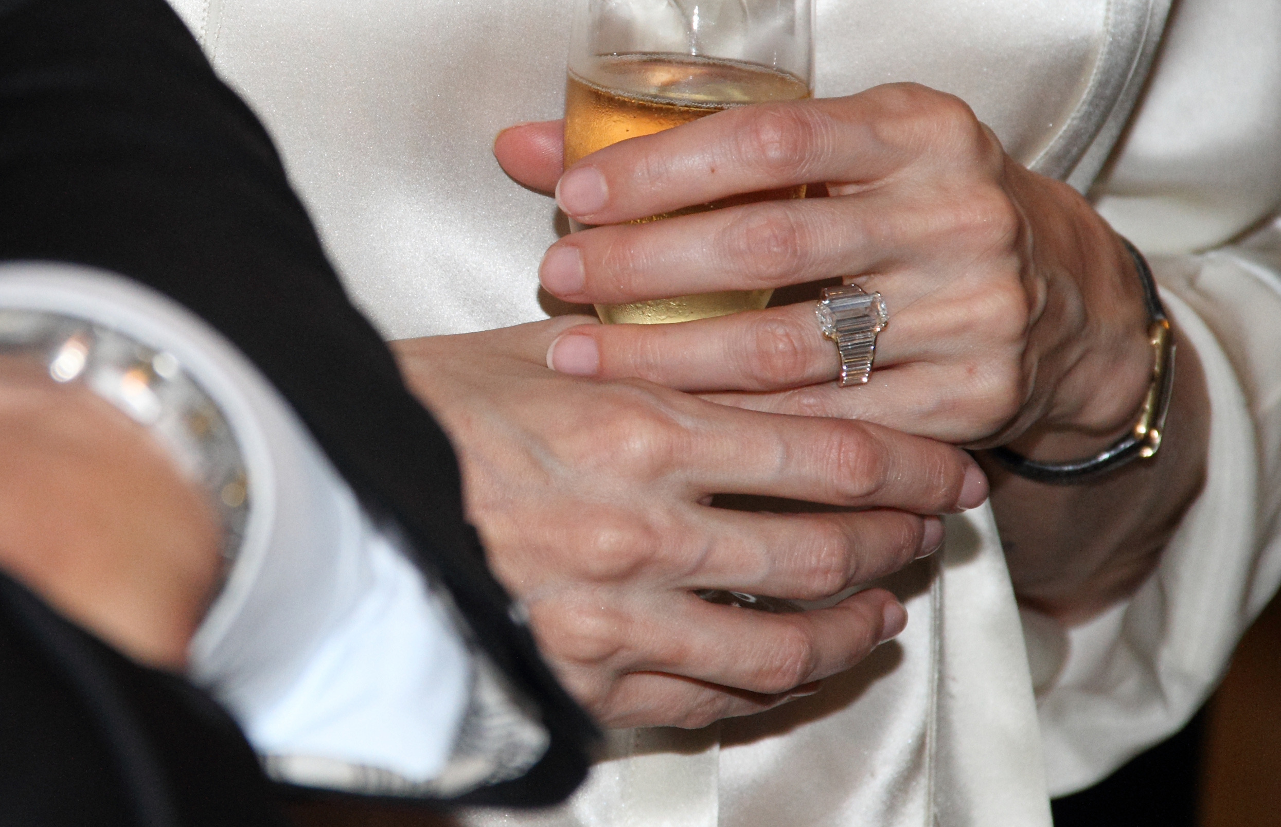Angelina Jolie Engagement Ring