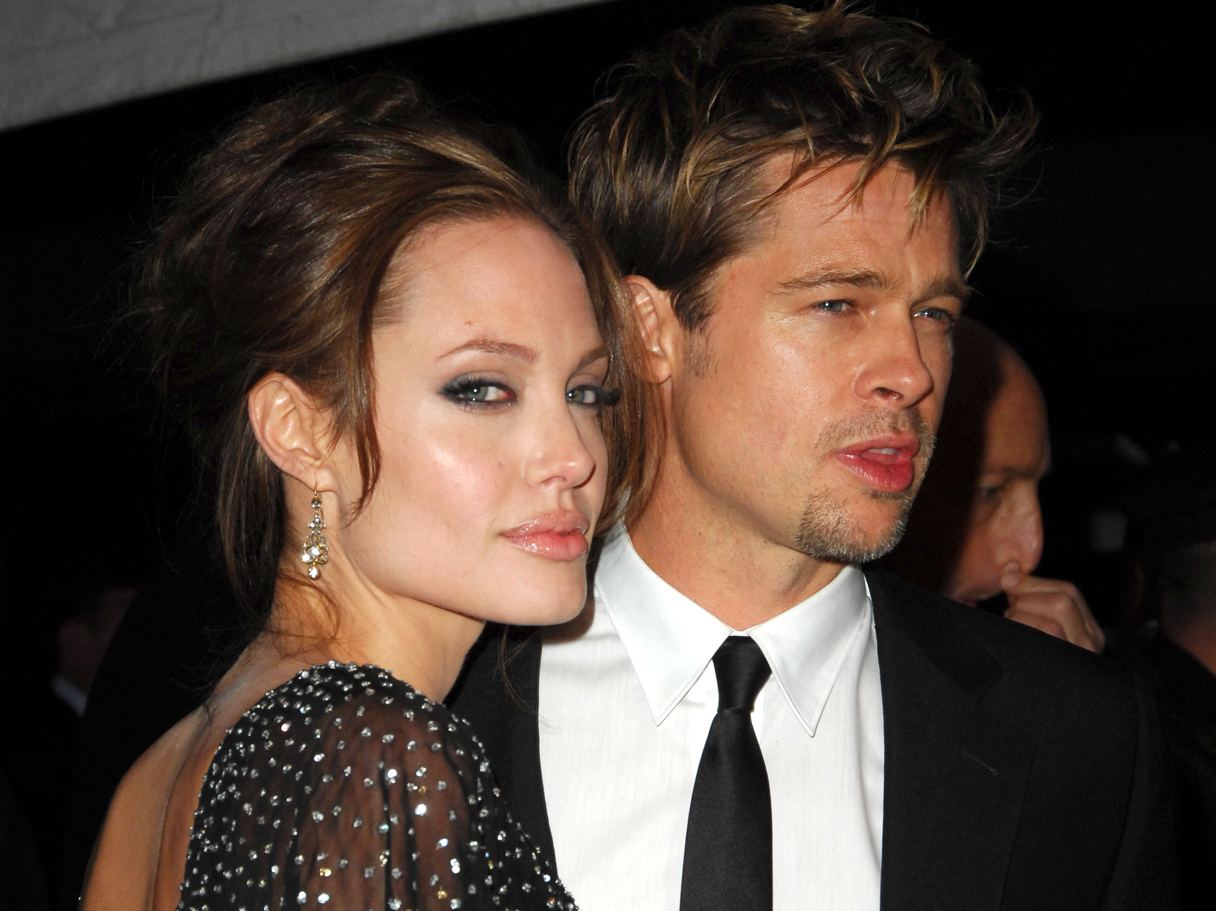 Brad and Angelina Step Out In Public