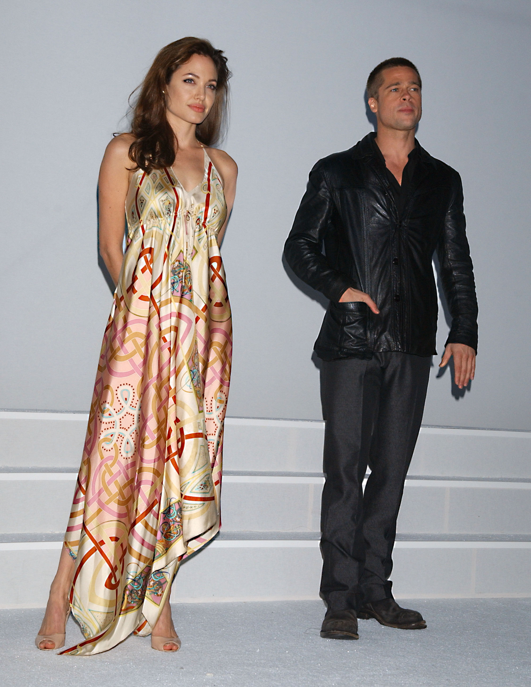 Brad Angelina Mr and Mrs Smith Press Event