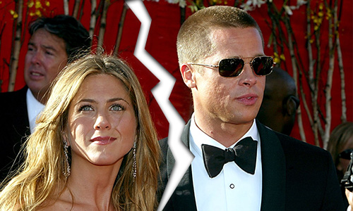 Brad Pitt and Angelina Jolie split