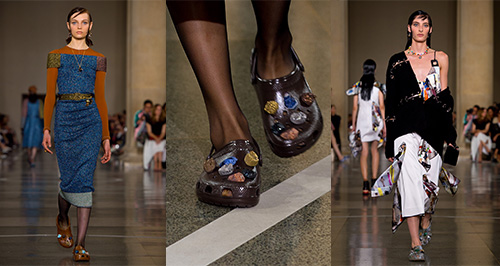 Christopher Kane Crocs London Fashion Week