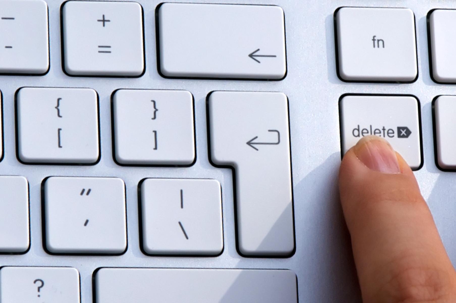 Delete Keyboard