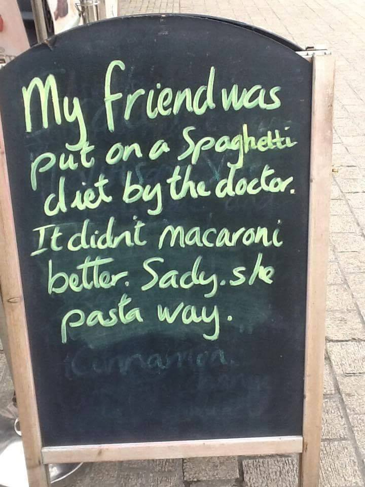 Inversnecky Cafe Sandwich Board Jokes 3