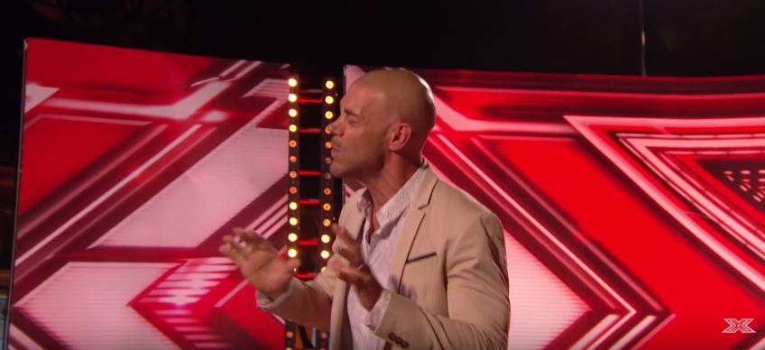 X Factor contestant Christopher Peyton