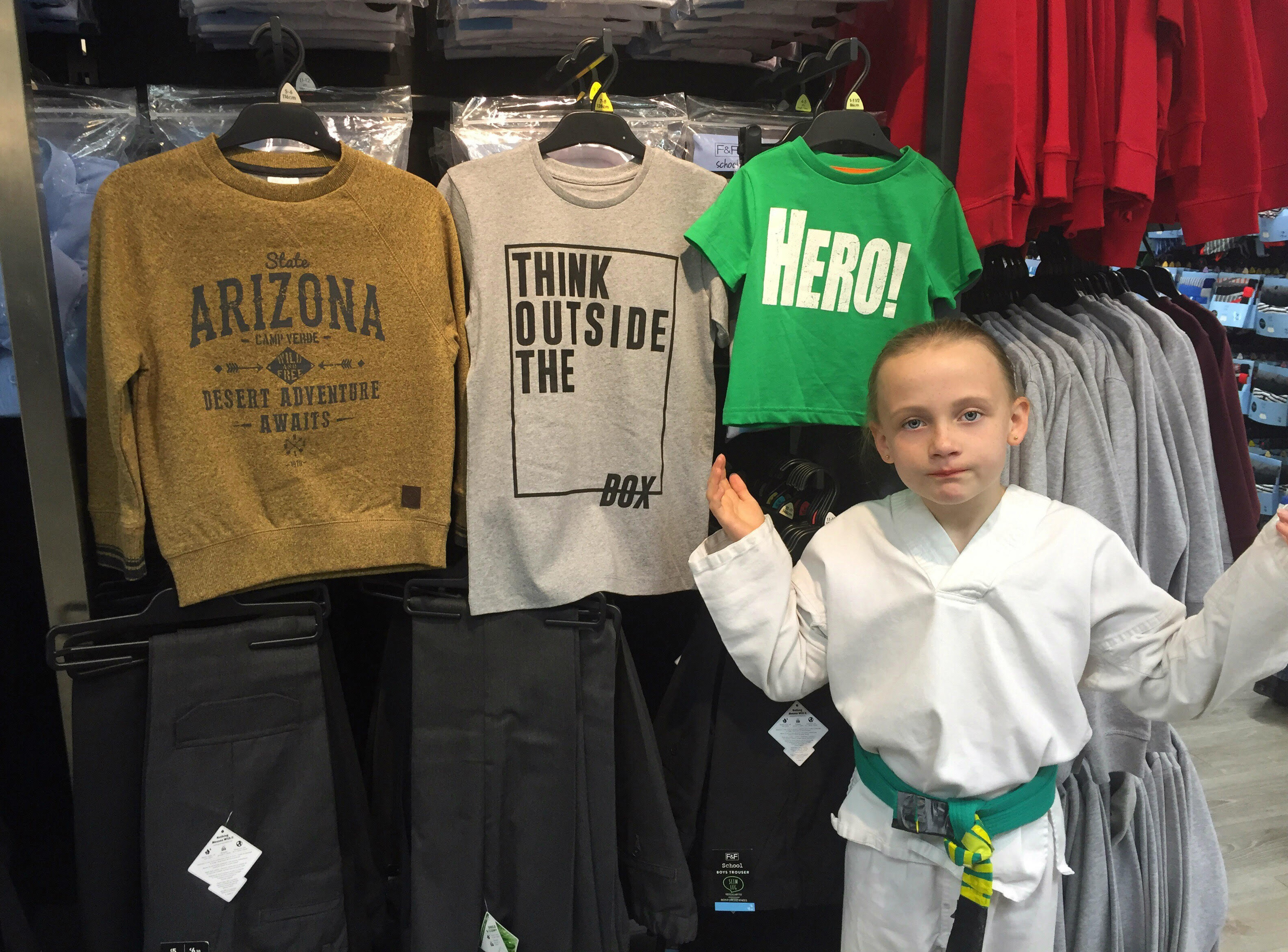Daisy Edmonds 'sexist' childrens clothes