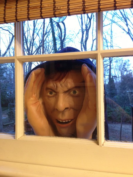 Scary halloween decoration removed from stores