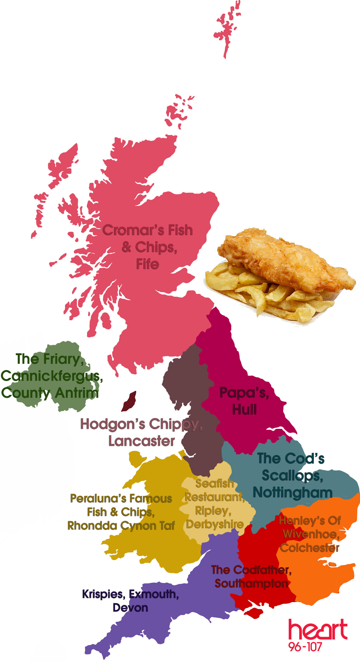 Best Fish And Chips In Britain Shortlist