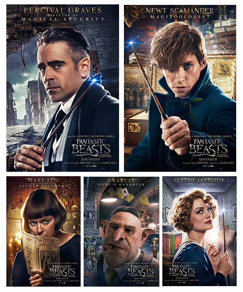Fantastic Beasts Posters