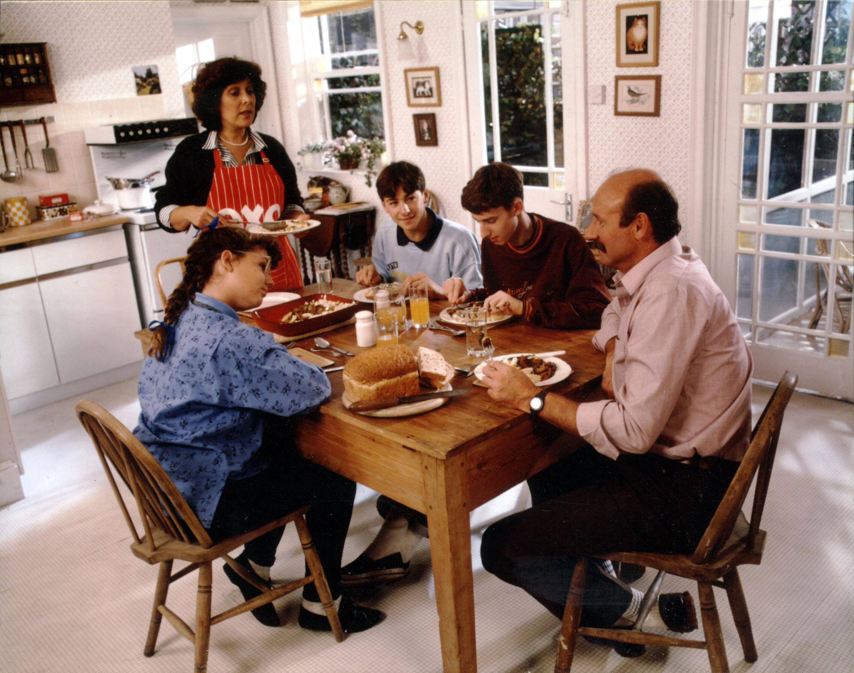 Lynda Bellingham's oxo family