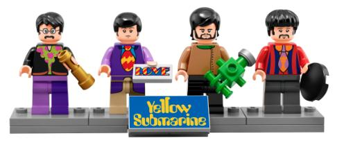 The Beatles LEGO Figures