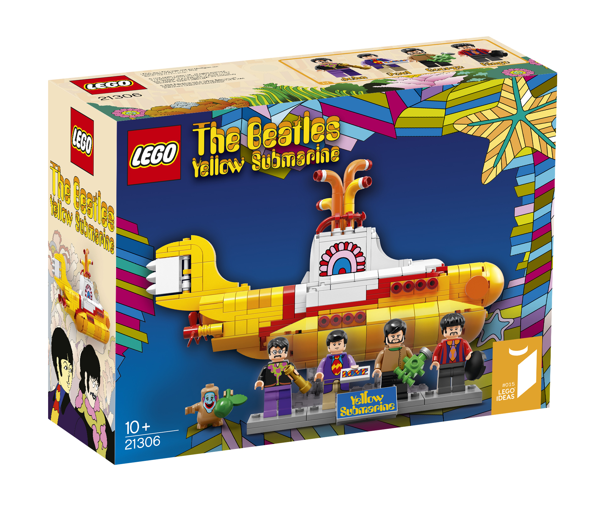 The Beatles LEGO Yellow Submarine