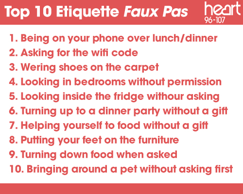 These Are The 10 Etiquette Rules You Should NEVER