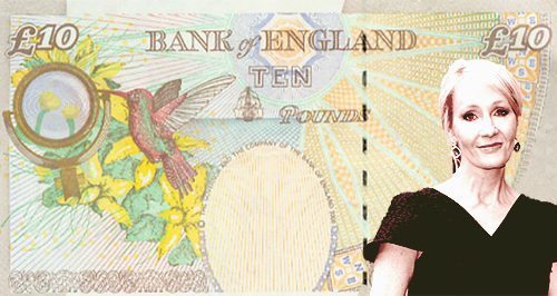J.K Rowling Bank Note