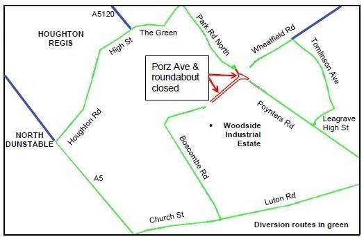 Porz Roundabout Roadworks