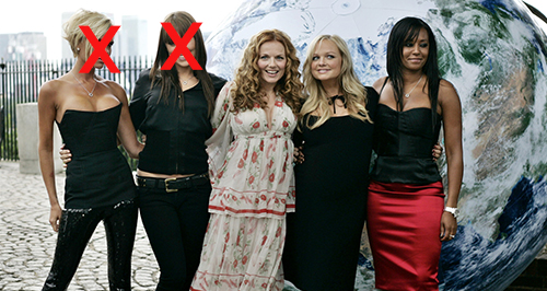 Spice Girls Canvas