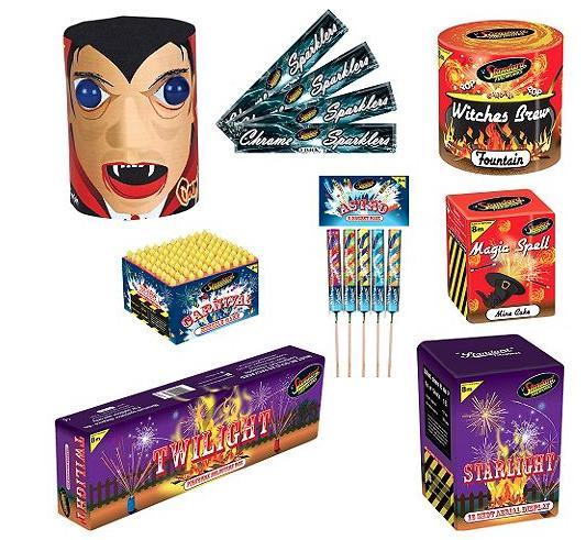 Tesco Carnival Pack Fireworks