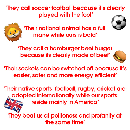 Why Brits are better than Americans