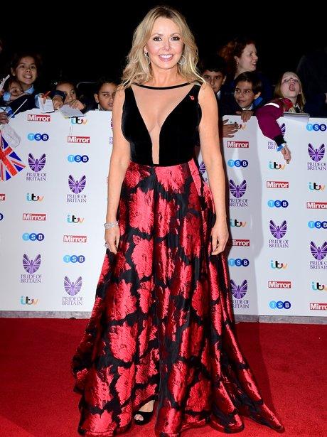 Carol Vorderman at the Pride of Britain Awards