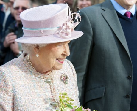 The Queen In Newmarket