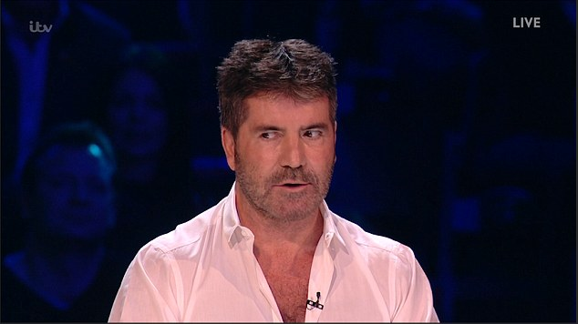 Watch Simon Cowell Accidentally Send His OWN Act H