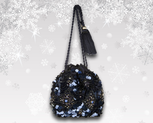 Accessorise Beaded Pouch - £35