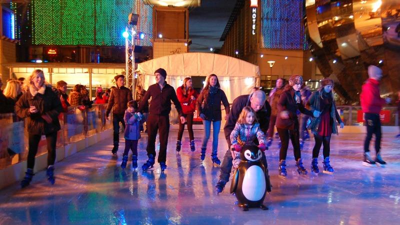 @Bristol Millennium Square Bristol Ice Rink