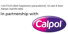 Calpol promoted tab with terms and conditions