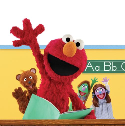 Elmo classroom Sesame Street