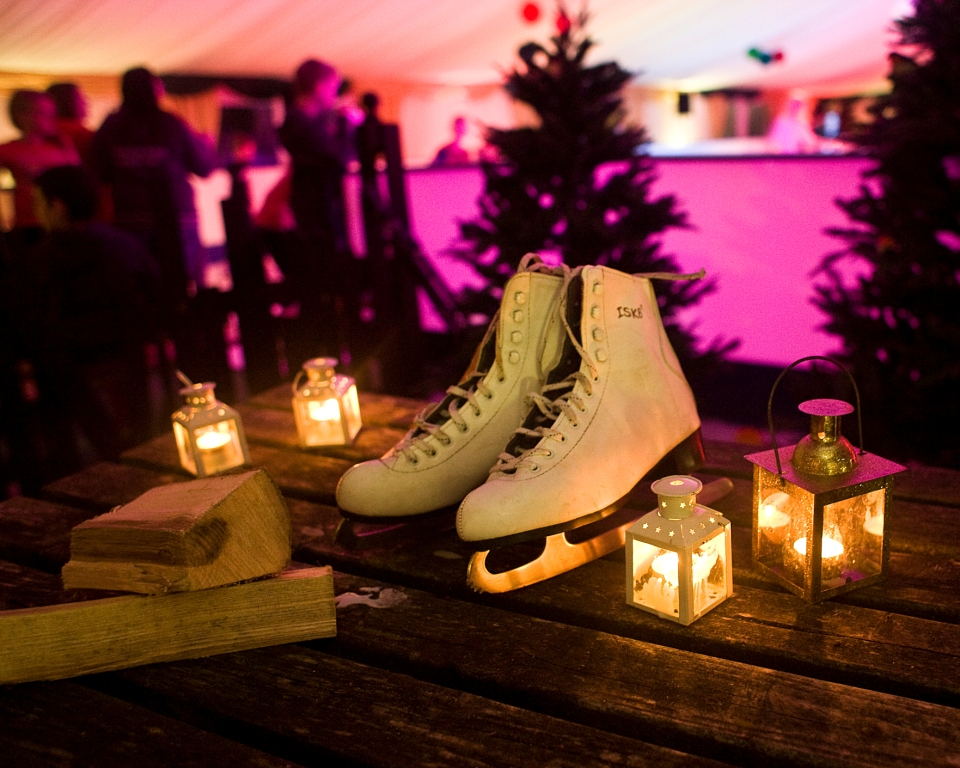 Hestercombe Festive Skating