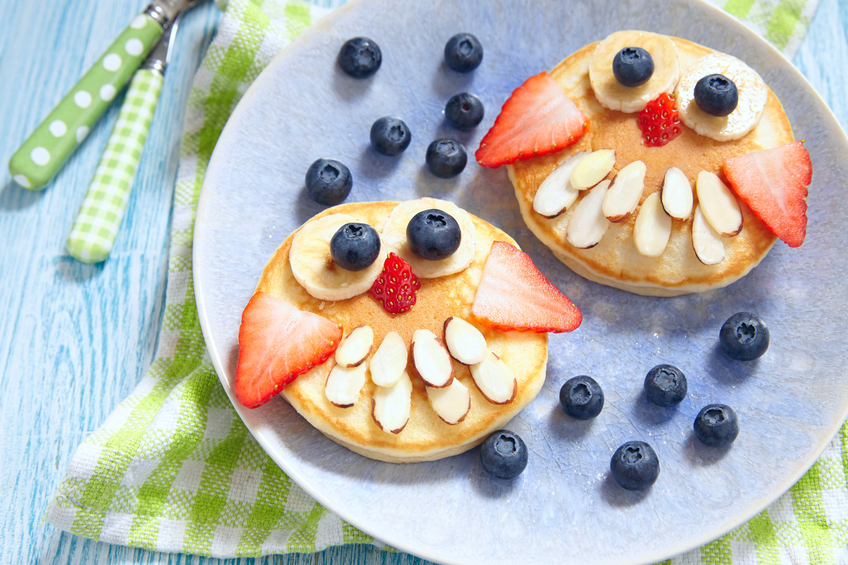 Pancake owls for kids