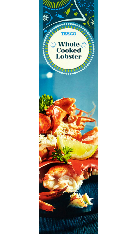 Tesco Whole Lobster