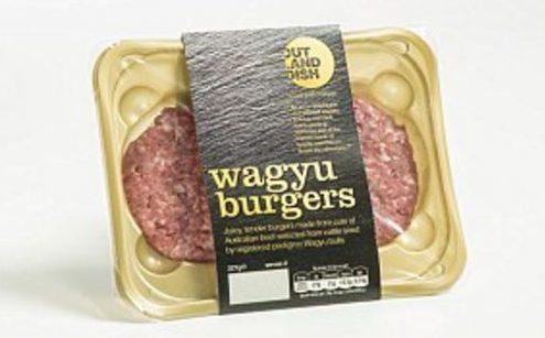 Waygu Burgers Tesco