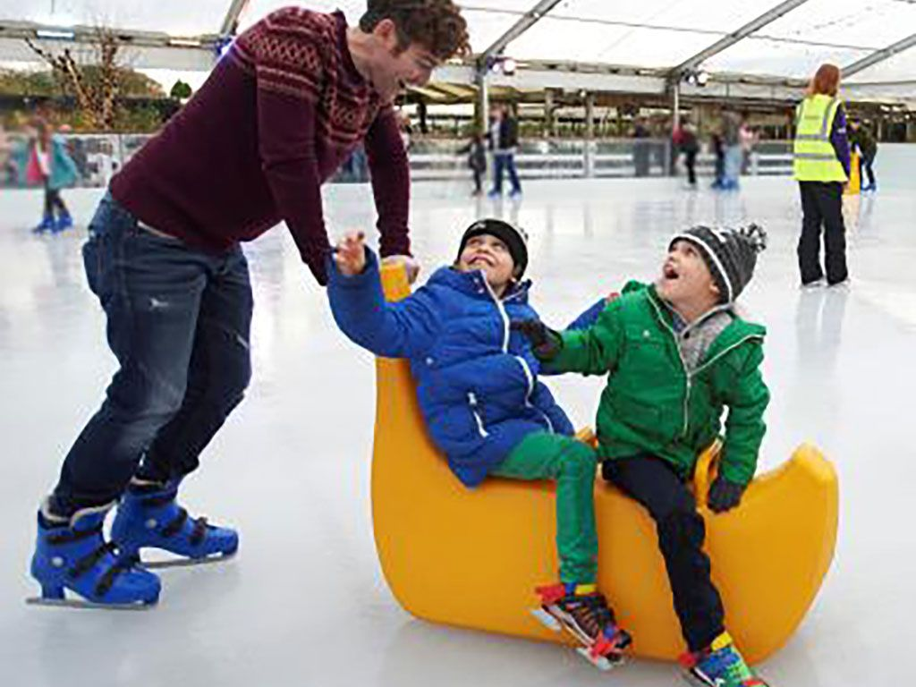 Whitehall Garden Centre Ice Rink