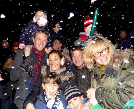 Croxley Christmas House Light Switch On 2016