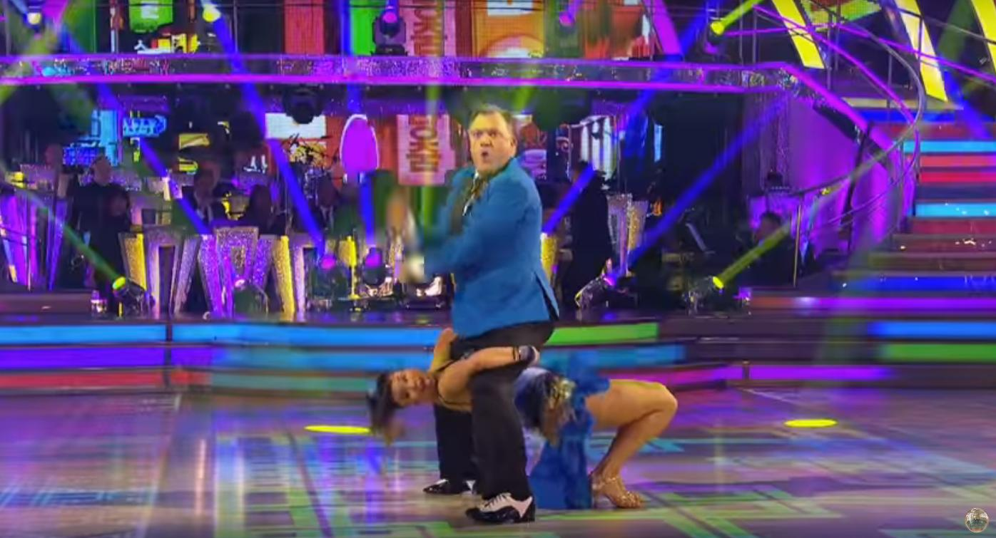 Ed Balls Dancing To Gangnam Style On Strictly Is T