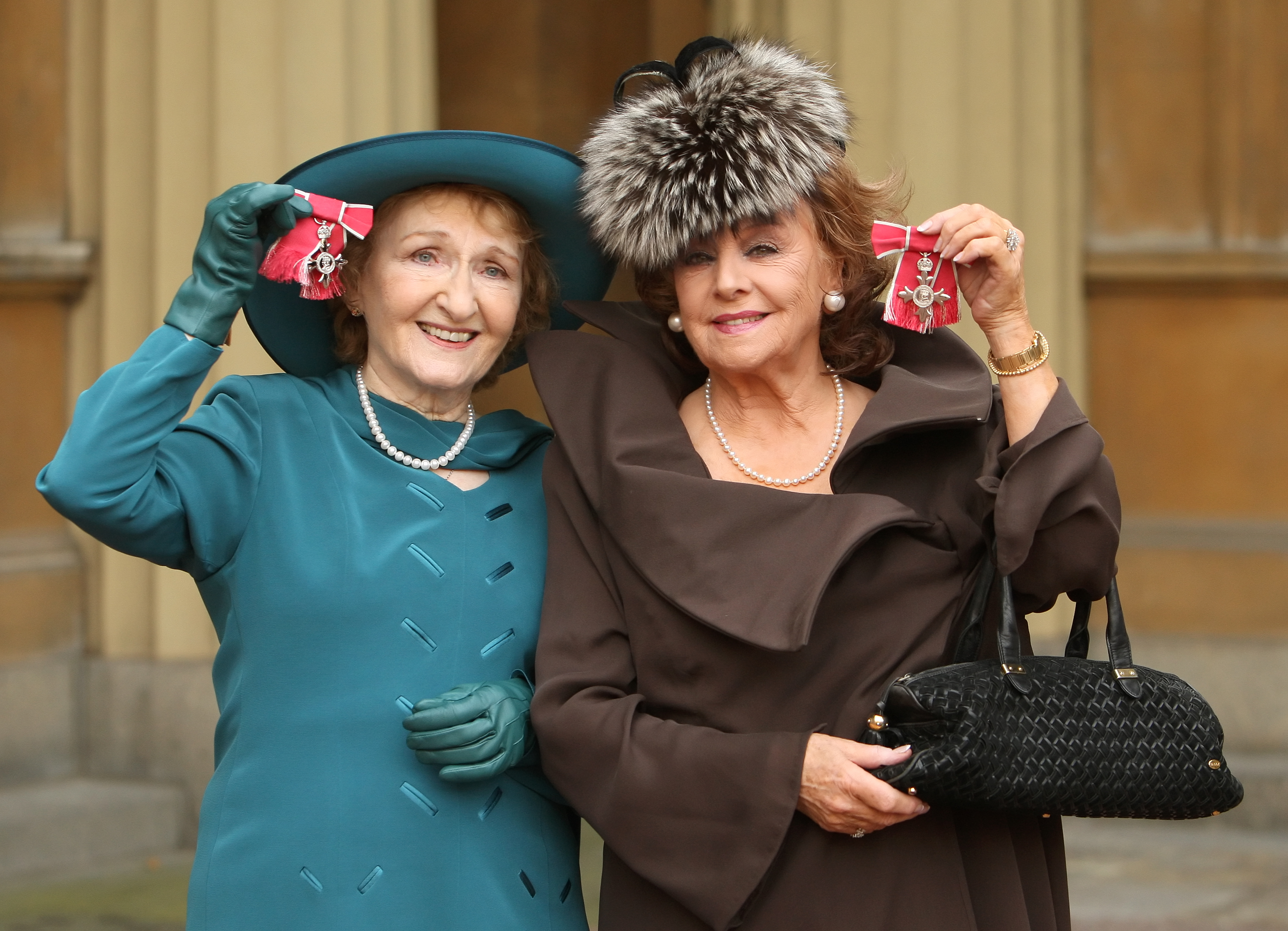 Eileen Derbyshire and Barbara Knox MBE 2010