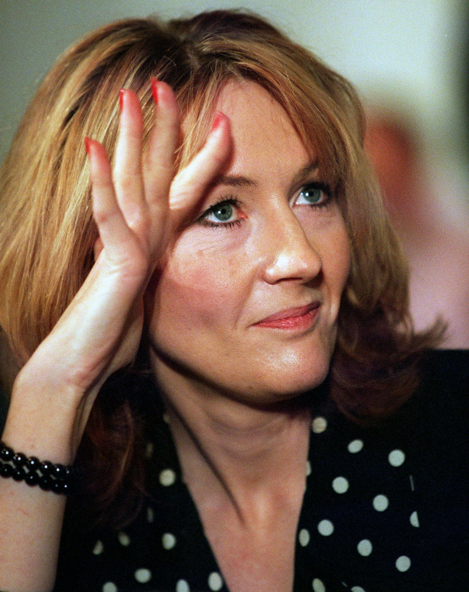 J K Rowling Red Head 1999