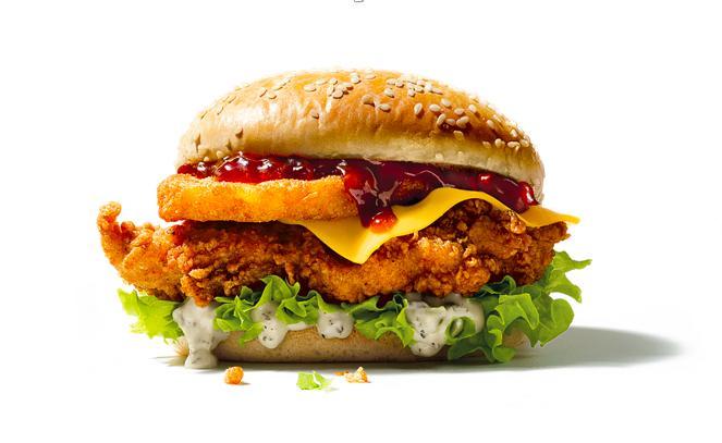 KFC Colonel's Christmas Burger