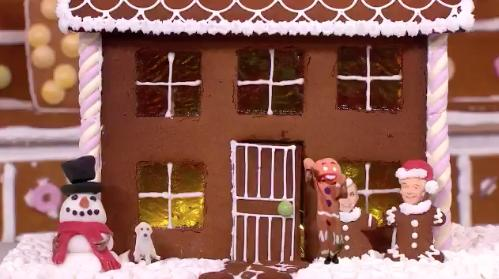 Holly And Phil Gingerbread House 3