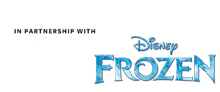 In partnership with Frozen new